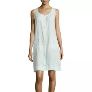 Eileen Fisher Woman 1X Arora Organic linen dress